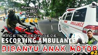Video Macet EVERYWHERE, Dibantu Anak Motor - Part 2 | Escorting Ambulance #15 MP3, 3GP, MP4, WEBM, AVI, FLV Maret 2019