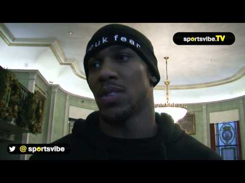 Anthony Joshua Talks Kevin Johnson, Tyson Fury And Dereck Chisora