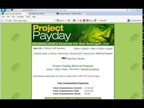 Project payday review or scam Real Free Work from home Job Online 2015