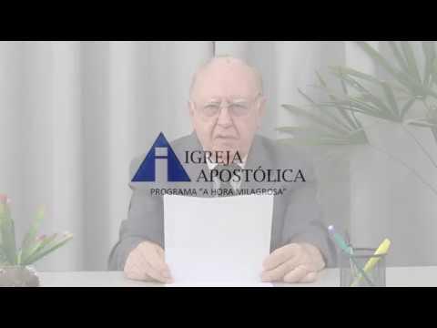 Mensagem de reflexão - Abertura do MINUTO DE REFLEXÃO com o Pastor José Solyom Filho