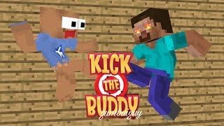 Video Monster School : KICK THE BUDDY CHALLENGE - Minecraft Animation MP3, 3GP, MP4, WEBM, AVI, FLV Februari 2019