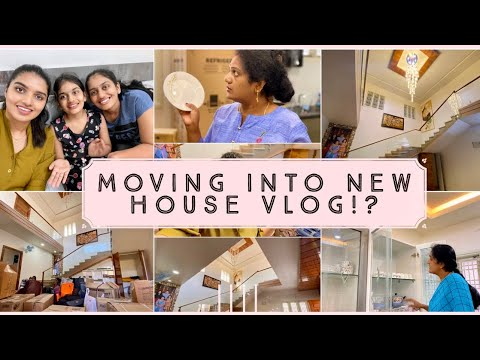 Moving into New House Vlog!?|Arranging Our New House|Organising Kitchen,Bedrooms & More||#DIML||