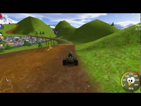 Let´s Play Supertuxkart Spezial Part 3 ( Add Ons part 2 ) (видео)
