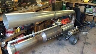 Making a Jet Go-Kart Part 2 - Controls/Fuel