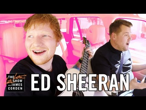 Ed Sheeran Carpool Karaoke (видео)