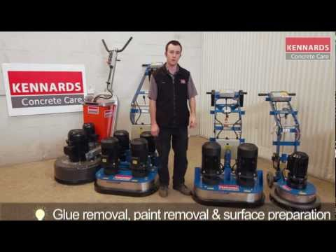 Concrete Grinder | Heavy Duty Double Head 415V for Hire Video Image
