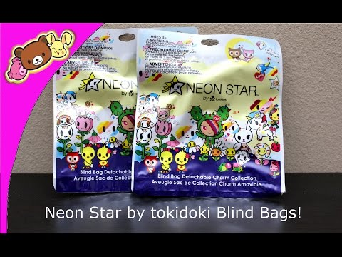 Neon Star By Tokidoki Blind Bags! - Opening/Review!