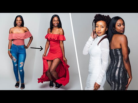 Women Try Fashion Nova Formal Wear