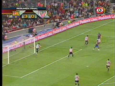Final Supercopa 2009 (Barcelona 3 - 0 Athletic)
