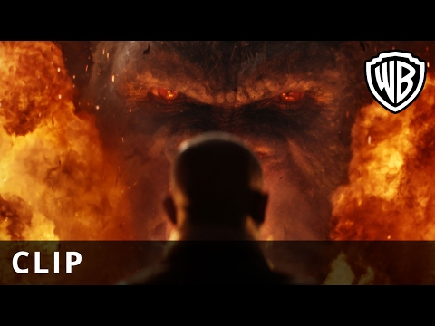 Kong: Skull Island (Clip 'Is That a Monkey?')