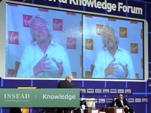 Richard Branson talks about creative entrepreneurship