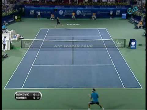 David Ferrer vs Novak Djokovic