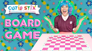 """Trixie and Ms. Kitty make a super cute looking board for their game! You can do it too!DIY Decorated Board Games  Official Cutie StixFrom the makers of Orbeez and Pom Pom WowThe official YouTube channel of Cutie Stix""""Continuous Cuts, Countless Creations! Seriously Cute!""""1) Cut the stix to create beads. Use the CORING UNIT to core the beads.2) Create necklaces, bracelets, and more by using the threader.3) Show off your finished jewelry design. Be your own designer!From the makers of Orbeez and Pom Pom Wow by Maya ToysSUBSCRIBE:https://www.youtube.com/channel/UCHx4Hfo0-MpUEPRTflJjWLw?sub_confirmation=1Maya Toys 2016http://www.CutieStix.com"""
