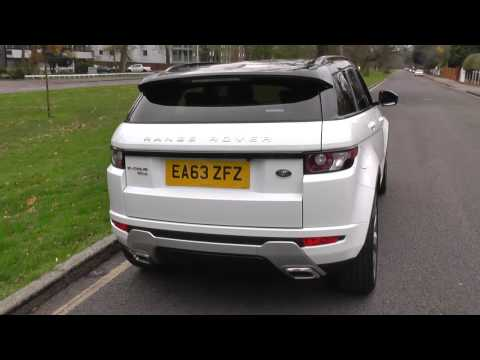 Range Rover Evoque Diesel 5dr Land Rover 2014MY SD4 Dynamic LUX 9 Speed Automatic U53138