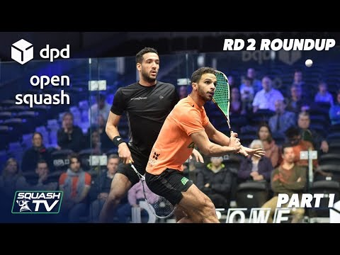 Squash: DPD Open 2019 - Men's Rd 2 Roundup [P1]