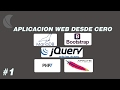 Creando una Aplicación Web con PHP 7 Parte 1 [ login MySQL Server Terminal]