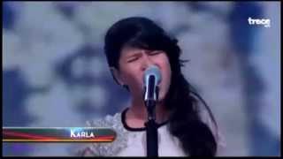 Niña de 12 años sorprende cantando Chandelier de Sia (Cover)
