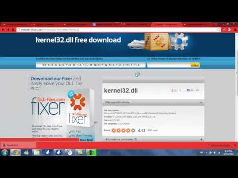 comment reparer kernel32.dll