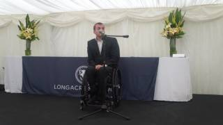 Andy Barrow - Longacre School Speech Day