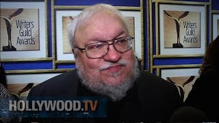 George R.R. Martin Talks Game Of Thrones At WGA - Hollywood TV
