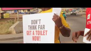 Awareness creation on the need to own a household toilet through the GAMA SWP