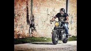 5. Special Triumph Bonneville by MOTO DESIGN CUSTOMS