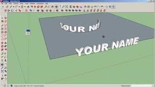 "Video SketchUp: Bend Text with the ""Shape Bender"" Plugin MP3, 3GP, MP4, WEBM, AVI, FLV Desember 2017"