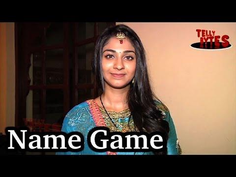 Name Game with Vidhi Pandya aka Imli ! Udaan