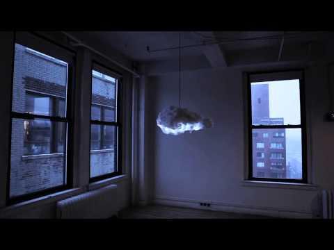 la lampada che porterà il temporale nel tuo salotto - cloud by rc.