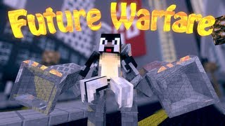 Future Gun Mod: Minecraft Future Warfare Mod Showcase!