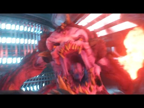 В новом видео к игре Doom игрокам оторвали ноги