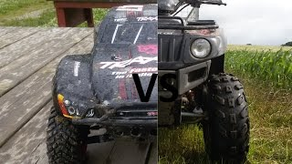 5. Drag race slash 2wd brushless edition VS 2010 Arctic Cat 90 2x4