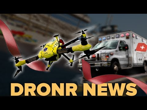 Life Saving Drones can get to an emergency faster than an ambulance!