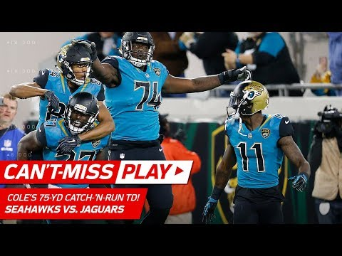 Video: Keelan Cole's 75-Yd Catch-'n-Run TD to Take the Lead vs. Seattle! | Can't-Miss Play | NFL Wk 14