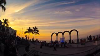 Timelapse Los Arcos, Malecón de Puerto Vallarta