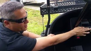 8. Triad Golf Carts The Hunter HD 4wd 4x4 electric golf cart