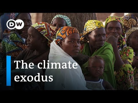 Fleeing climate change - the real environmental disaster   DW Documentary