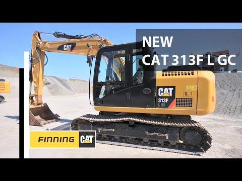 Walk around Cat's 313F LGC