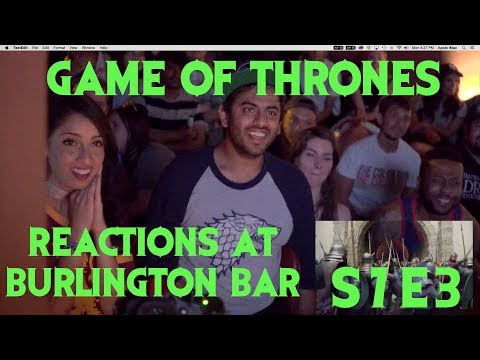 GAME OF THRONES Reactions At Burlington Bar /// S7E03 PART 2 \\\
