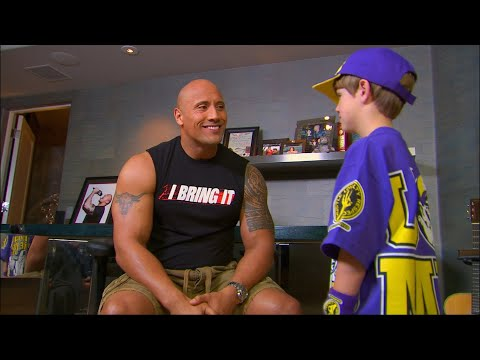 0 The Rock Meets John Cena on RAW