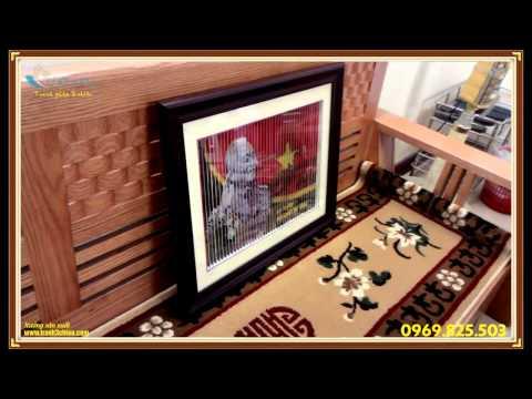 Tranh ghép thủ công 3 chiều sản phẩm độc quyền của xưởng sản xuất quà tặng Thiên Phú