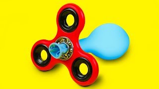 7 CRAZY FIDGET SPINNER TRICKS