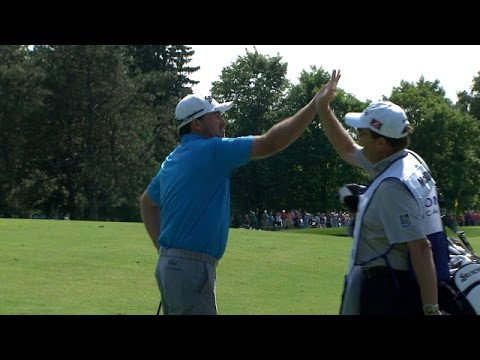 holes - In the opening round of the 2014 RBC Canadian Open, Greame McDowell holes out his second shot from 213 yards for eagle on the par-4 11th hole. Subscribe to the channel http://pgat.us/subPGAT...
