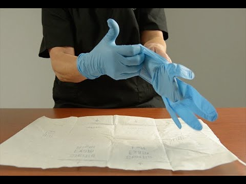 Putting on Sterile Gloves