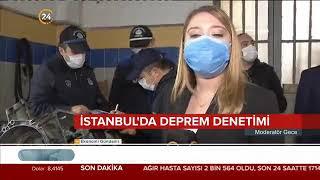 Deprem Riskine Karşı Binaların Kiriş Ve Taşıyıcı Kolon Denetimleri - 24 Tv / 2