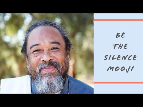 Mooji Guided Meditation: Be the Silence