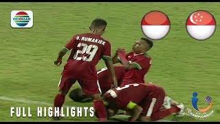 Video Indonesia (4) vs (0) Singapura - Full Highlight | AFF U-19 Championship MP3, 3GP, MP4, WEBM, AVI, FLV Maret 2019