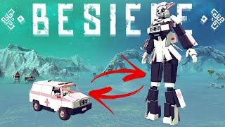Video The Best Transformer in Besiege!? - SpaceX Falcon 1, Cars with Limbs & More - Besiege Best Creations MP3, 3GP, MP4, WEBM, AVI, FLV September 2019