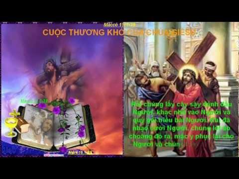 CHÚA NHẬT LỄ LÁ _ CUỘC KHỔ NẠN CỦA ĐỨC KITÔ (Năm B)