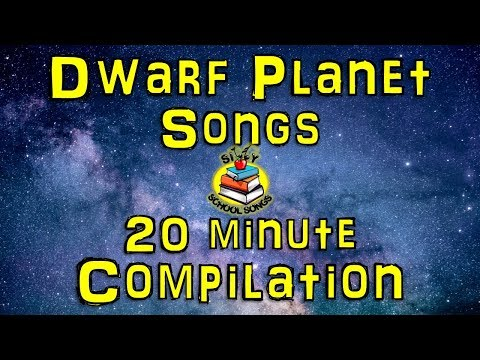 Dwarf Planets for Kids | 20 Minute Compilation from Silly School Songs! | Dwarf Planet Songs